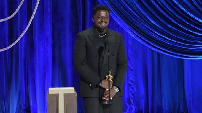 Daniel Kaluuya Best Supporting Actor Oscar