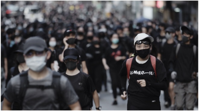Dogwoof Takes World on Hot Docs Hong Kong Protest Pic 'Faceless' (EXCLUSIVE)