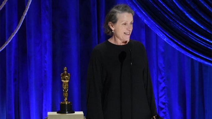 Francis McDormand Oscars Best Actress Win