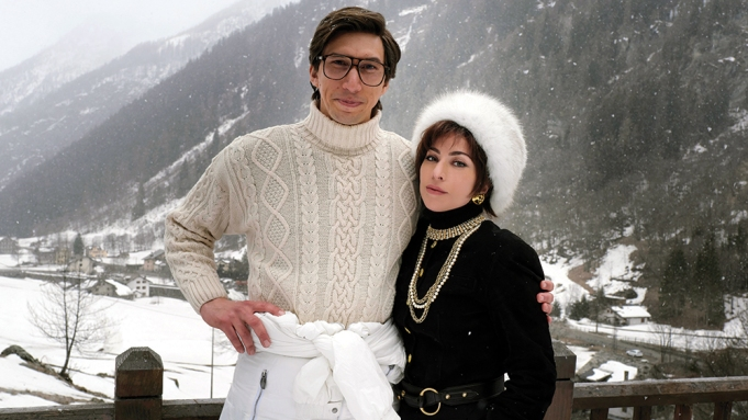 House of Gucci Adam Driver Lady