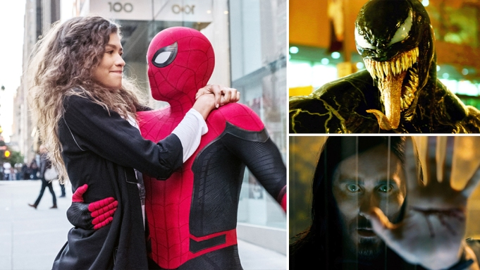 Sony Disney Spider-Man Venom Morbius
