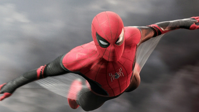 SPIDER-MAN: FAR FROM HOME, Tom Holland as Spider-Man / Peter Parker, 2019. © Columbia Pictures / © Marvel / courtesy Everett Collection