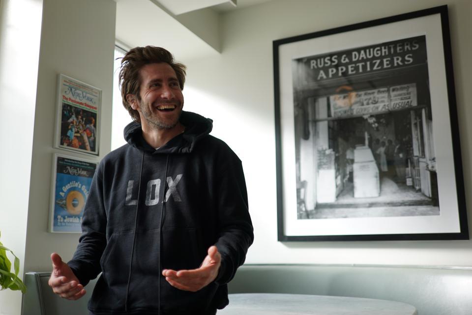 Jake Gyllenhaal Lox Sweashirt Russ and Daughters