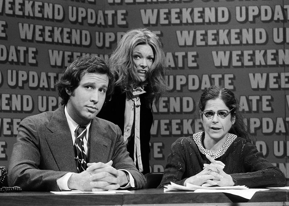 Gilda Radner Chevy Chase Jane Curtin SATURDAY NIGHT LIVE