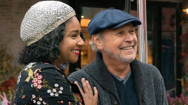 'Here Today' Review: Billy Crystal, as a Comedy Writer Losing His Memory, Meets Tiffany Haddish in a Lively Movie With a Soft Center.jpg