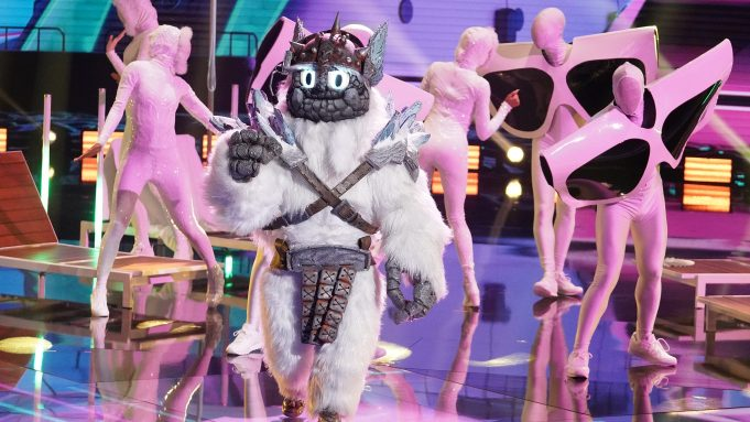 THE MASKED SINGER: Yeti in the