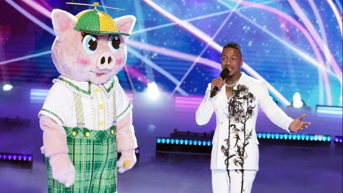 THE MASKED SINGER: L-R: Piglet and