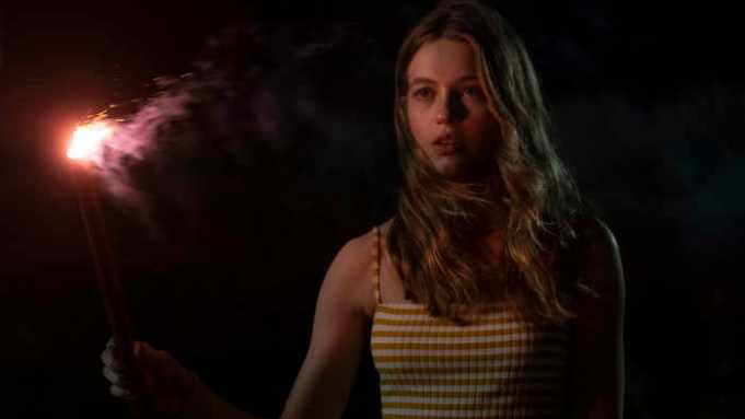 Olivia Welch in Panic