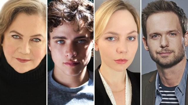 Adelaide Clemens, Patrick J. Adams, Douglas Smith, Kathleen Turner Starring in 'The Swearing Jar' (EXCLUSIVE).jpg