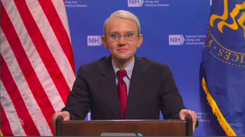 'Saturday Night Live's' Kate McKinnon Resumes Role as Dr. Fauci To Explain the CDC's New Mask Rules