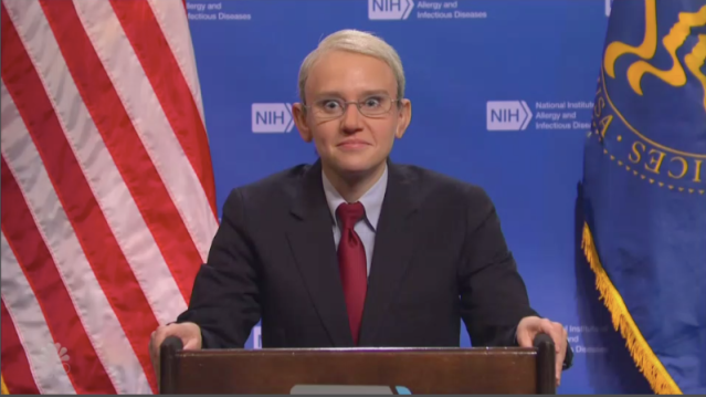 'Saturday Night Live's' Kate McKinnon Resumes Role as Dr. Fauci To Explain the CDC's New Mask Rules.jpg