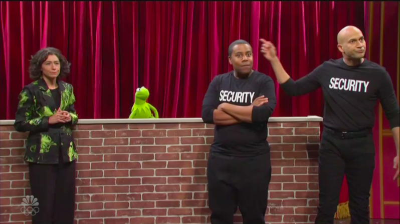 The Muppets Make a Surprise Appearance on 'Saturday Night Live'