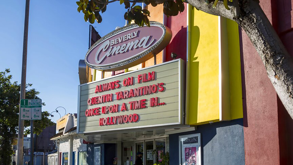 Quentin Tarantino's New Beverly Cinema Reopening in June thumbnail
