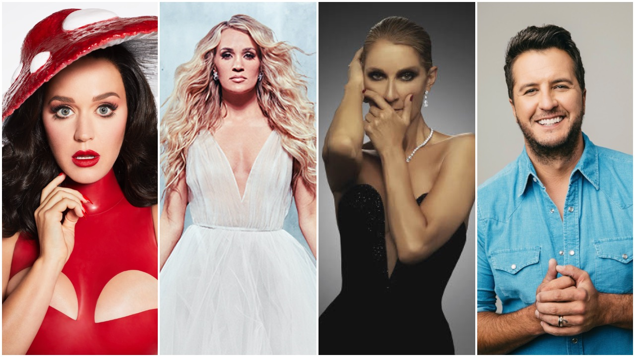 Resorts World Sets Dates for Vegas Mini-Residencies by Celine Dion, Carrie Underwood, Katy Perry and Luke Bryan