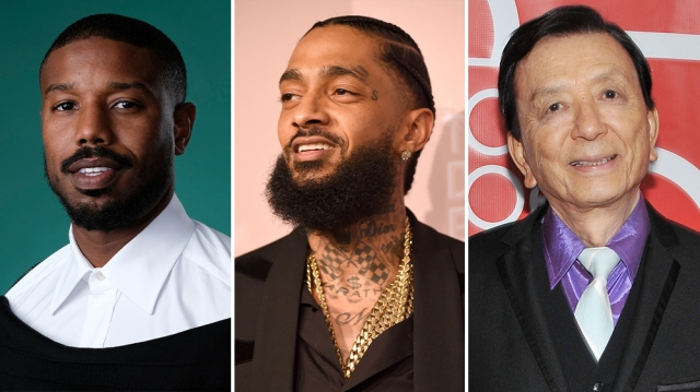 Michael B. Jordan, Carrie Fisher, Nipsey Hussle, James Hong and DJ Khaled Among 2022 Walk of Fame Honorees.jpg