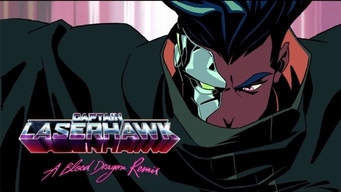 Captain Laserhawk A Blood Dragon Remix