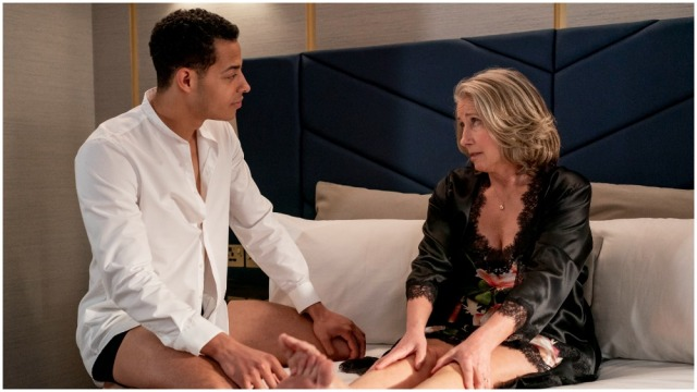 First Look of Emma Thompson in 'Good Luck to You, Leo Grande' Revealed, Cornerstone to Show Footage at Cannes Market.jpg