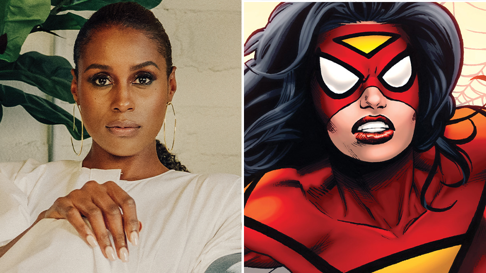 """Issa Rae Cast as Spider-Woman in """"Spider-Man: Into the Spider-Verse"""" Sequel"""