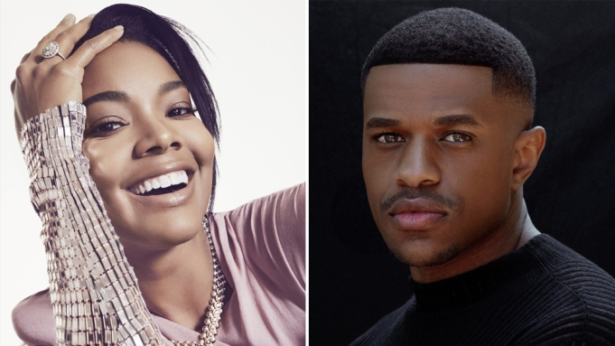 Jeremy Pope and Gabrielle Union