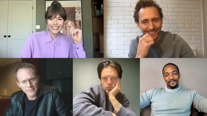 Elizabeth Olsen Tom Hiddleston, Paul Bettany,