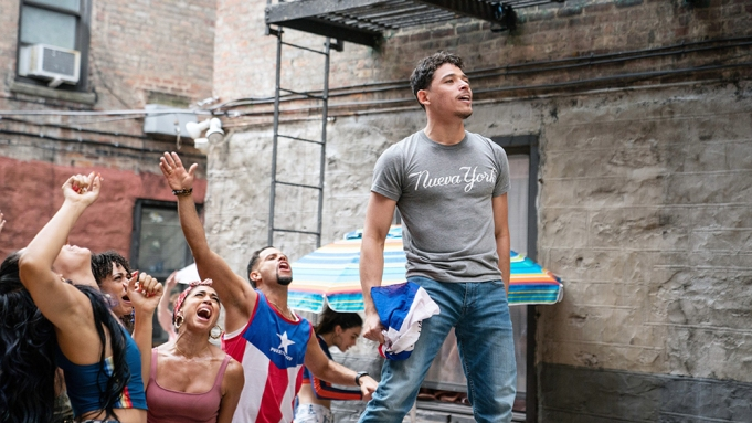 IN THE HEIGHTS, Anthony Ramos, 2021.