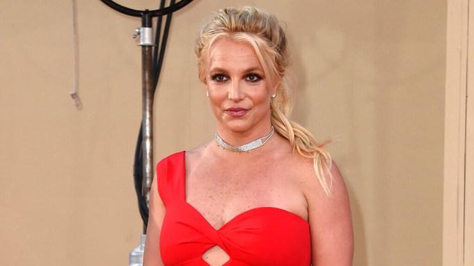 FILE - Britney Spears arrives at