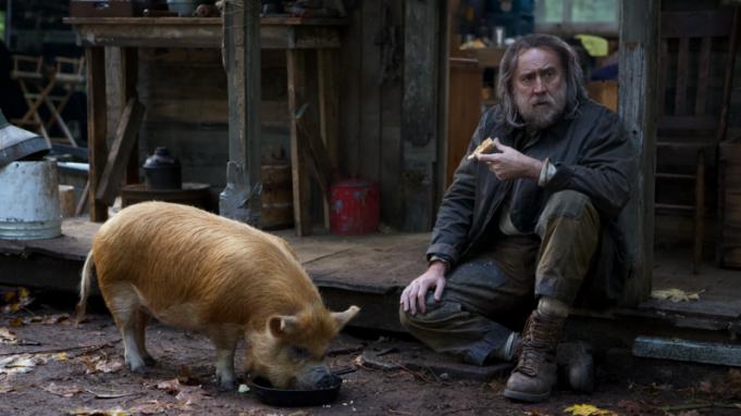 Pig' Review: Nicolas Cage Captivates in Strange, Sad Porcine Drama - Variety
