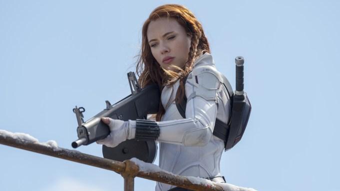 Black Widow Natasha Romanoff Scarlett Johansson BLACK WIDOW