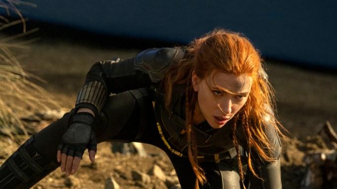 Natasha Romanoff (Scarlett Johansson) as Black Widow in Marvel Studios' BLACK WIDOW. Photo by Jay Maidment. ©Marvel Studios 2020.
