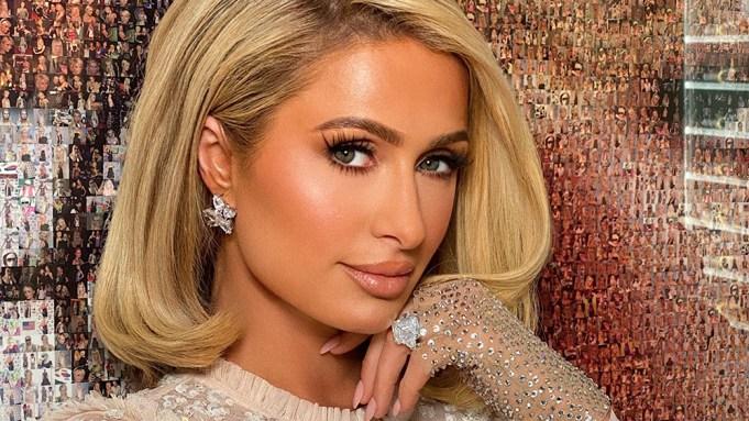 Paris Hilton headshot 2021