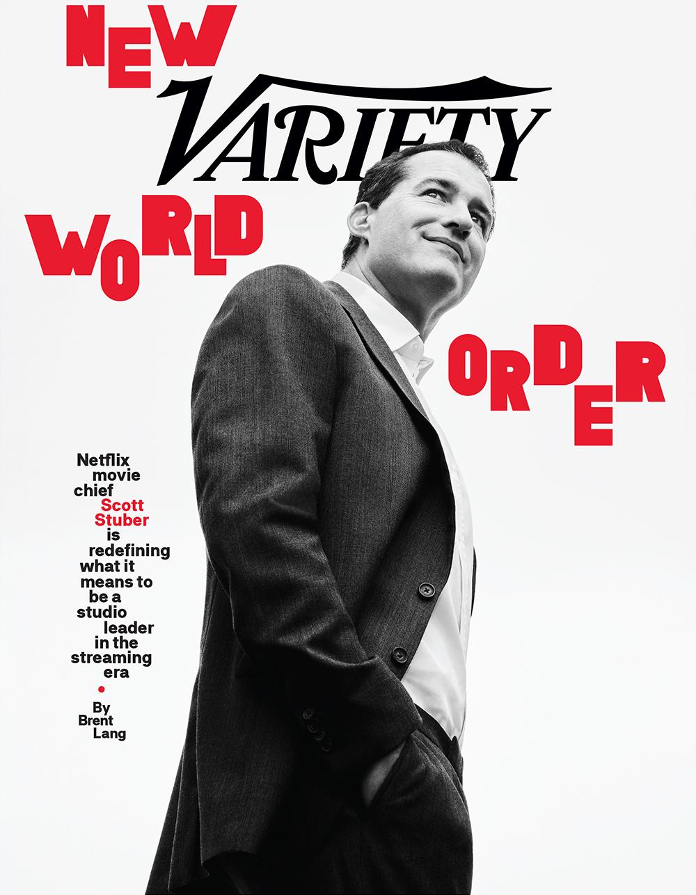 Scott Stuber Variety Cover