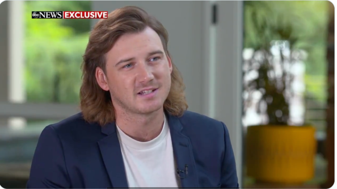 """WATCH: Morgan Wallen Says He Used Racial Slur 'Playfully and Ignorantly' in """"GMA"""" Interview With Michael Strahan"""