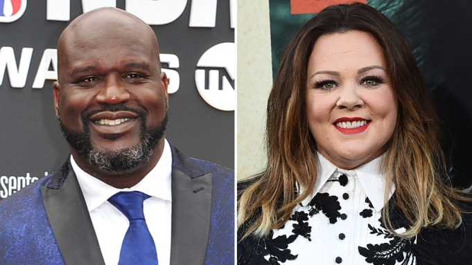 Shaquille O'Neal Melissa McCarthy