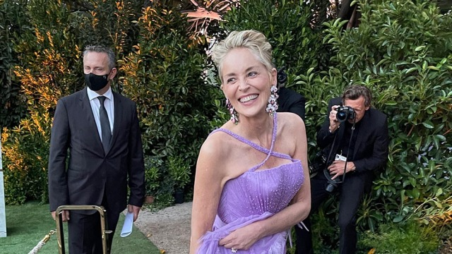 Sharon Stone Sells First-Edition 'The Great Gatsby' Signed by Leonardo DiCaprio for $200,000 at amfAR Cannes Dinner.jpg