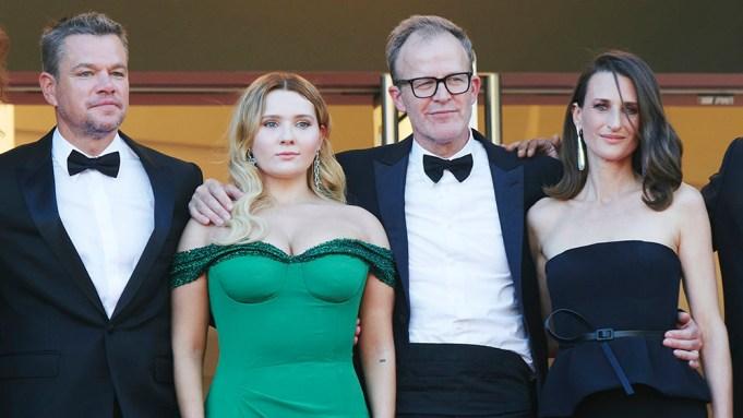 Matt Damon, Abigail Breslin, director Tom