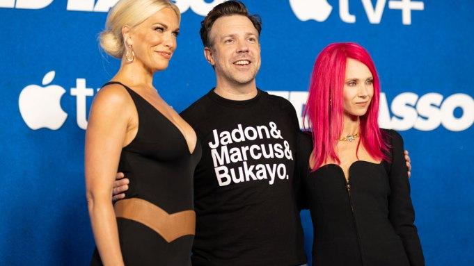 Hannah Waddingham, Jason Sudeikis and Juno