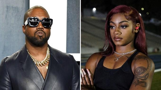 Kanye West Sha'Carri Richardson