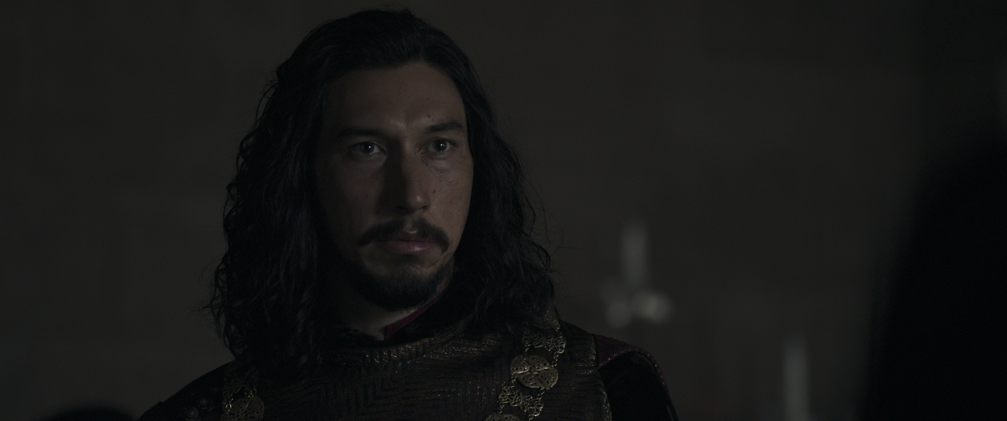 Adam Driver as Jacques LeGris in 20th Century Studios' THE LAST DUEL. © 2021 20th Century Studios. All Rights Reserved.