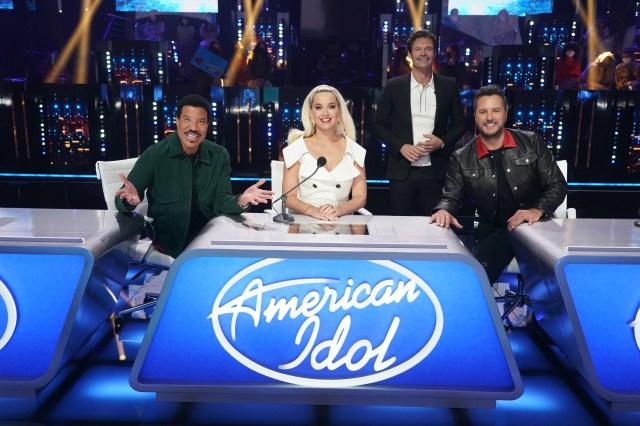 'American Idol' Judges Katy Perry, Luke Bryan, Lionel Richie and Host Ryan Seacrest Will All Return For Season 20.jpg