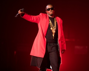 Puff Daddy performs onstage during the Bad Boy Family Reunion Tour on Tuesday, Sept. 6, 2016, in Toronto, Canada. (Photo by Arthur Mola/Invision/AP)