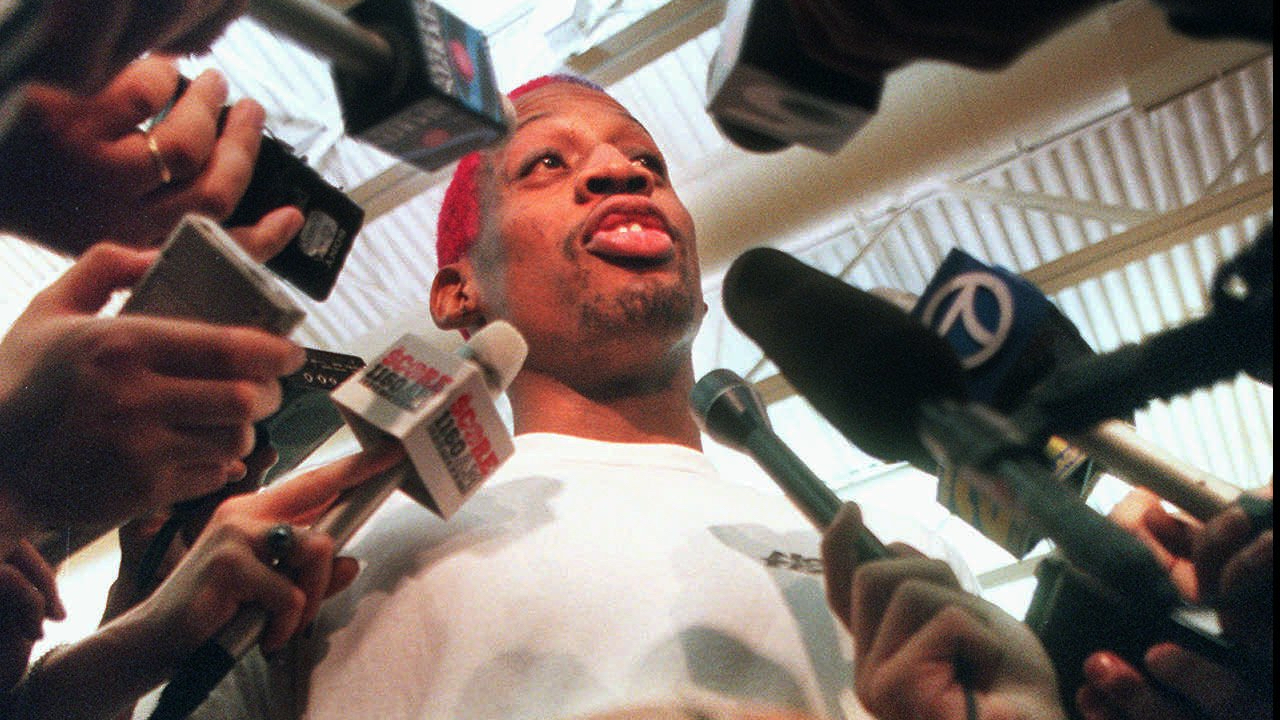 Dennis Rodman's Infamous 48-Hour Trip to Las Vegas During 1998 NBA Finals to Become Film for Lionsgate