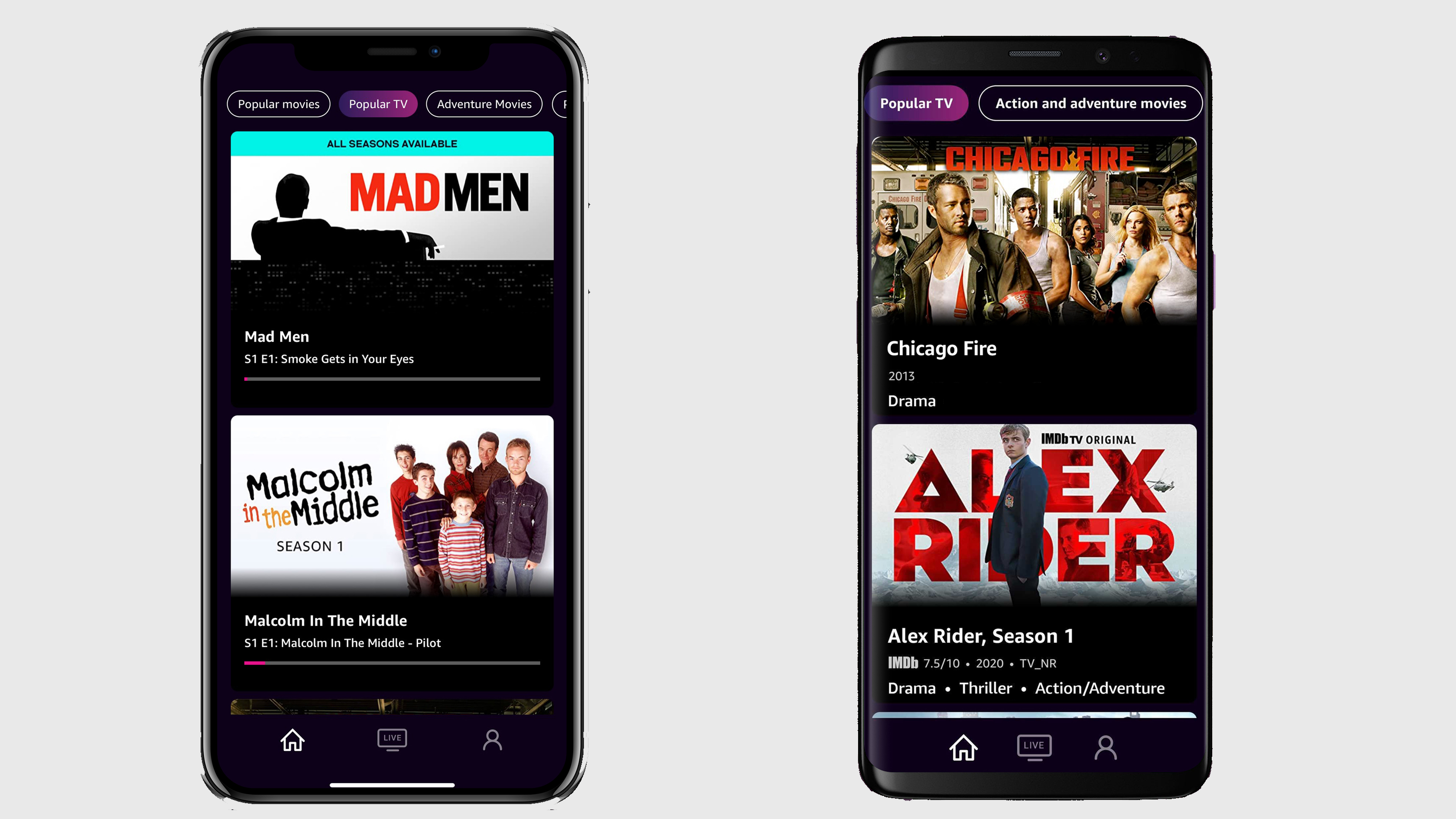 Amazon's IMDb TV Free Streaming Service Finally Launches iOS and Android Mobile Apps