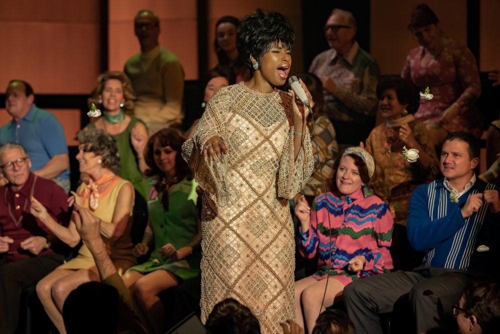 R_21097_RCJennifer Hudson stars as Aretha Franklin inRESPECT, A Metro Goldwyn Mayer Pictures film.Photo credit: Quantrell D. Colbert