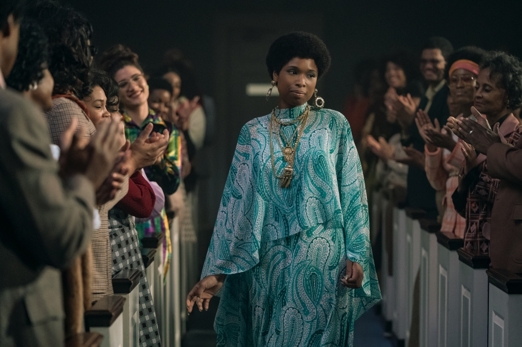 R_23169_RCJennifer Hudson stars as Aretha Franklin inRESPECTA Metro Goldwyn Mayer Pictures filmPhoto credit: Quantrell D. Colbert© 2021 Metro-Goldwyn-Mayer Pictures Inc. All Rights Reserved.