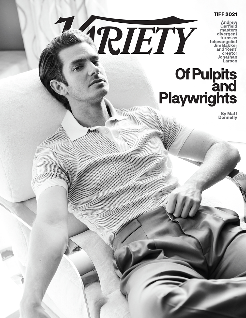 Andrew Garfield Variety Cover