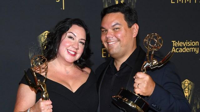 Robert Lopez, Kristen Anderson-Lopez Win Emmy for 'WandaVision's' 'Agatha All Along'.jpg