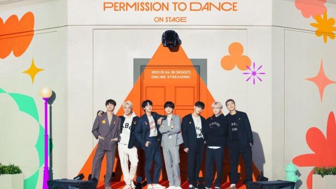 BTS Permission to Dance virtual concert
