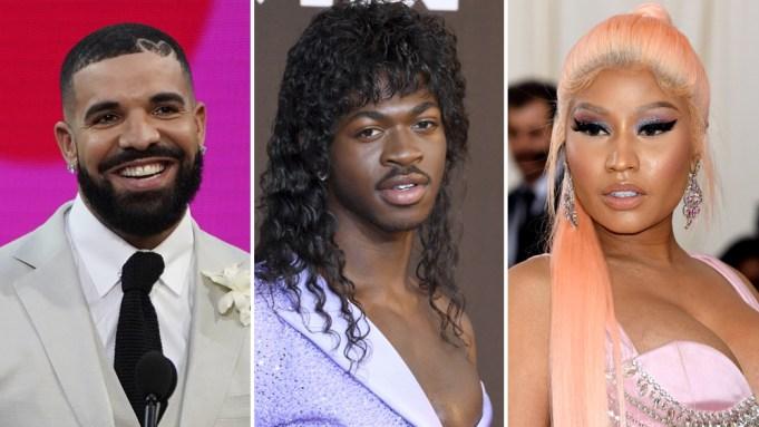 Drake Lil Nas X Nicki Minaj