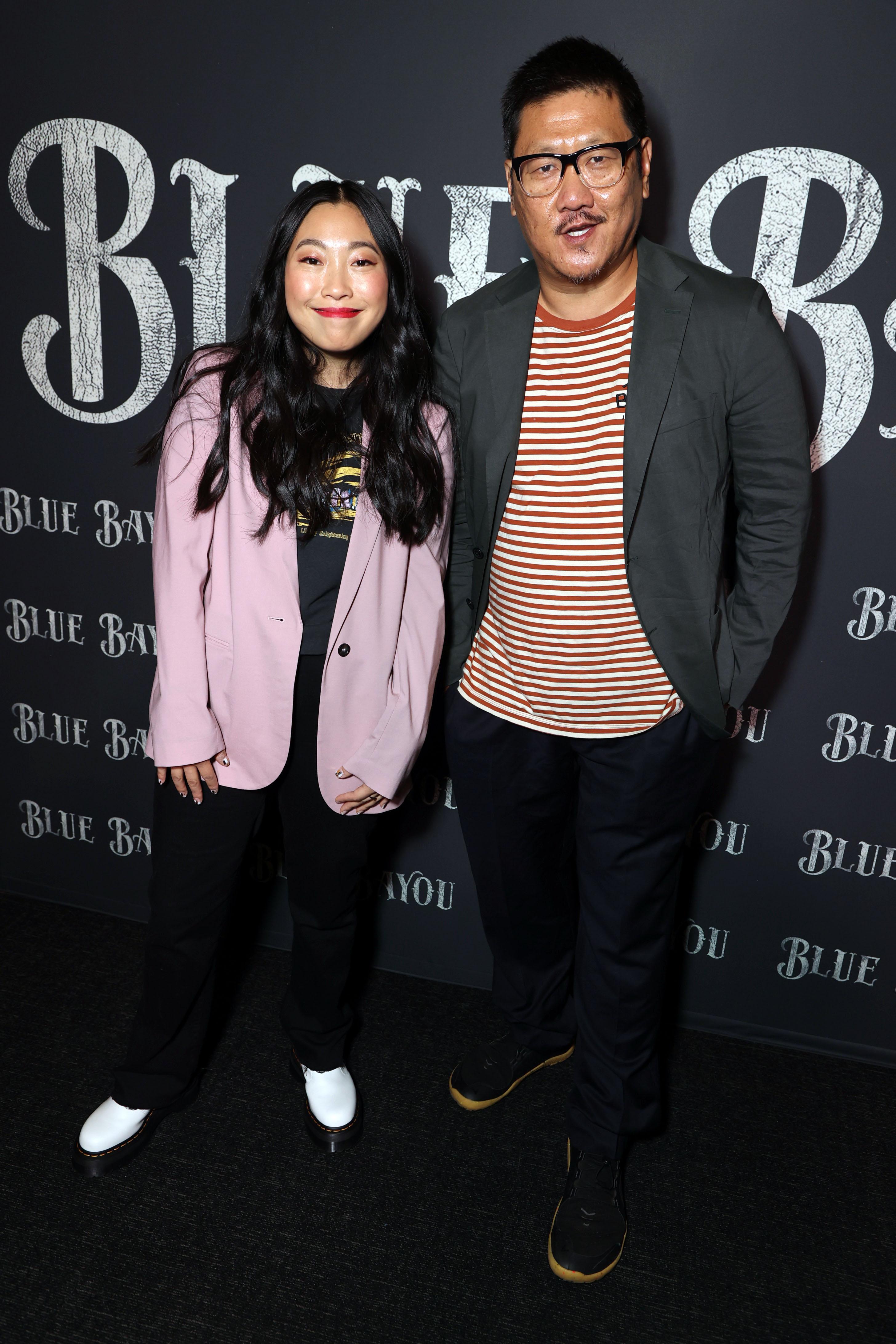 Awkwafina and Benedict Wong