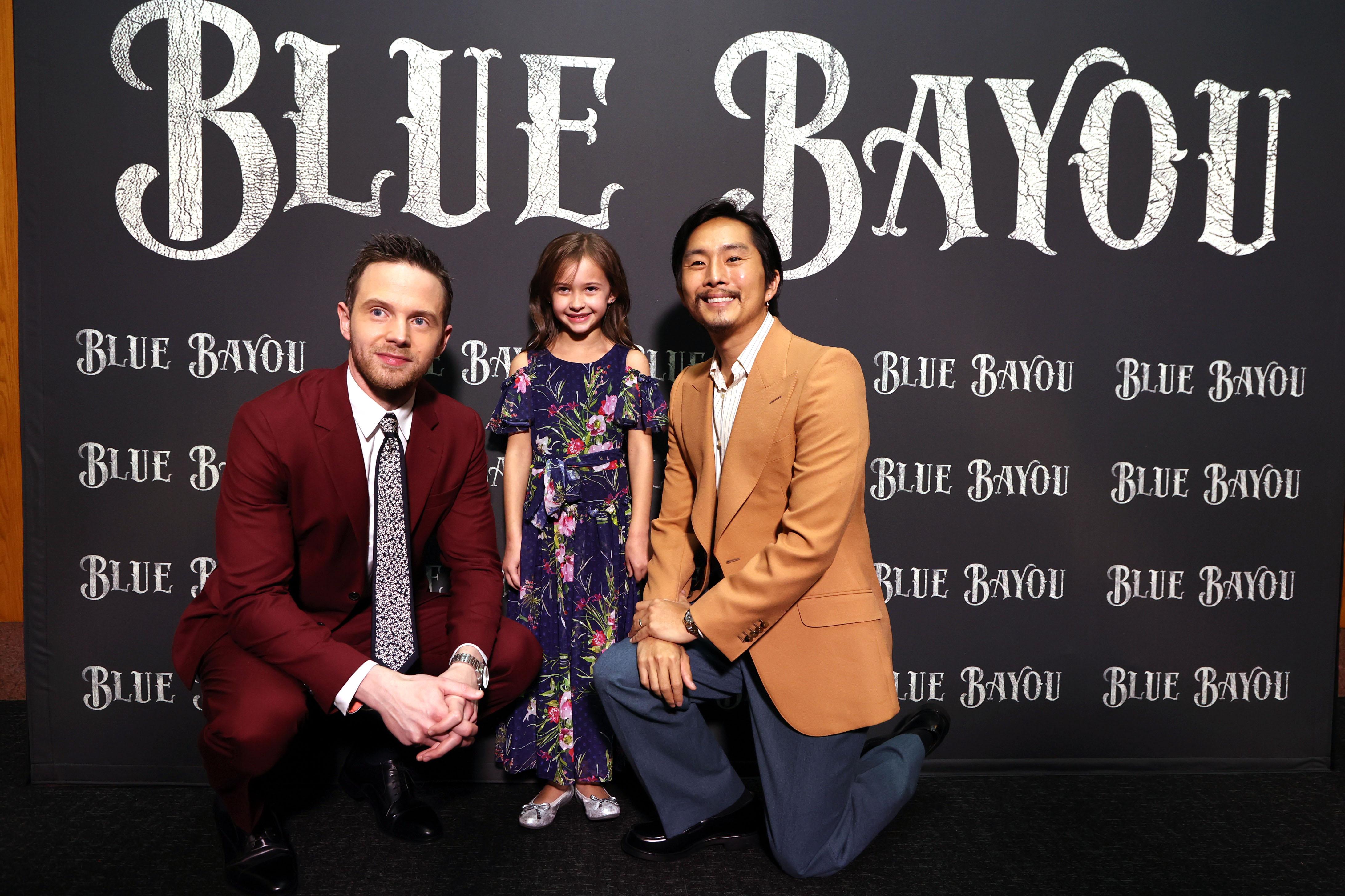 Mark O'Brian, Sydney Kowalske and Director Justin Chon